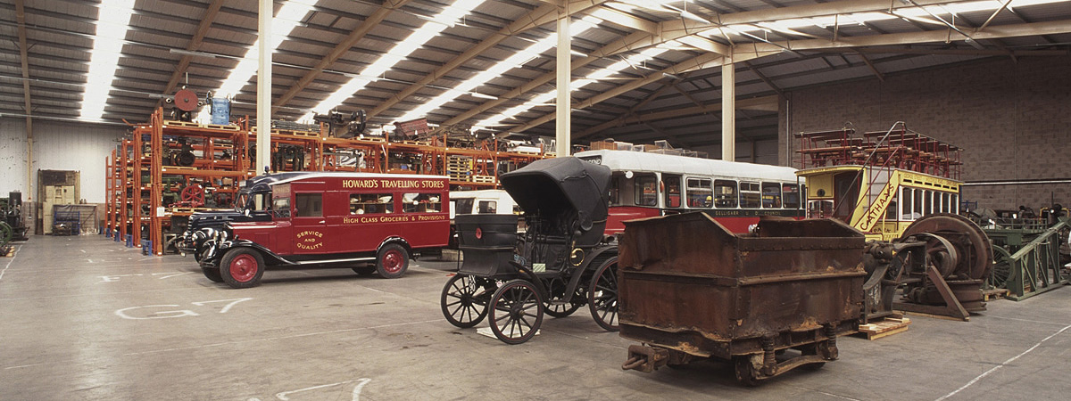 National Museum Wales, Department of Industry