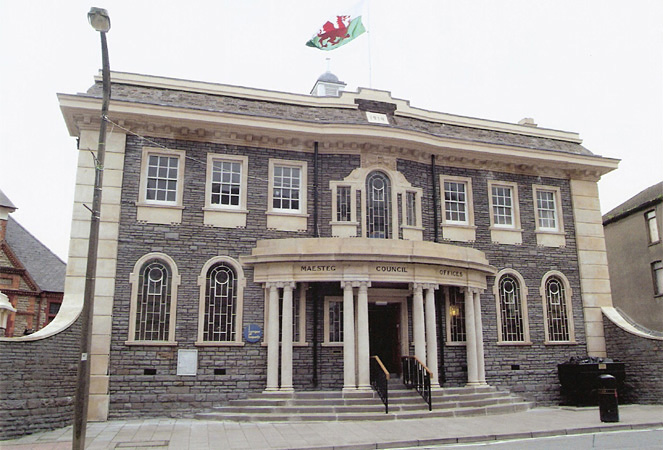 Bridgend County Borough Council Collection, Maesteg Town Council Offices