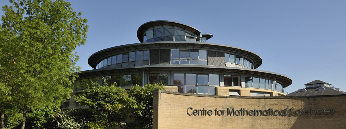 Department of Applied Mathematics and Theoretical Physics, University of Cambridge