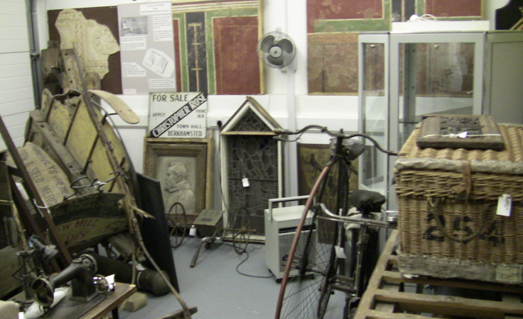 Dacorum Heritage Trust Ltd, The Museum Store