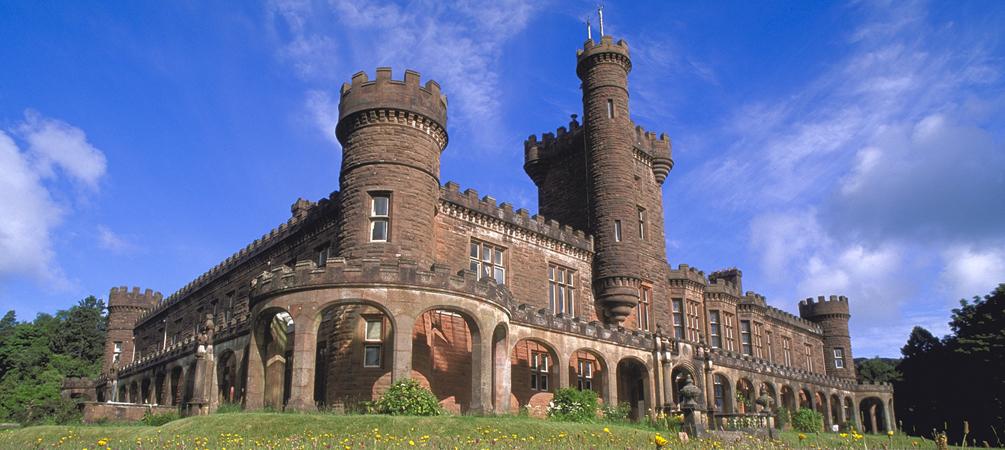 Kinloch Castle, Rum (Scottish Natural Heritage)