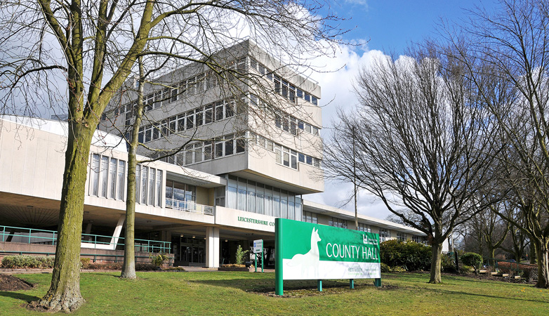 County Hall, Leicestershire County Council Artworks Collection