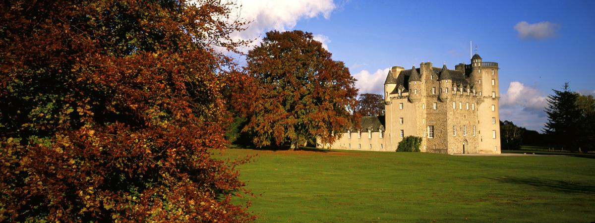 National Trust for Scotland, Castle Fraser, Garden & Estate