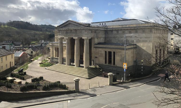 y Gaer Museum, Art Gallery & Library