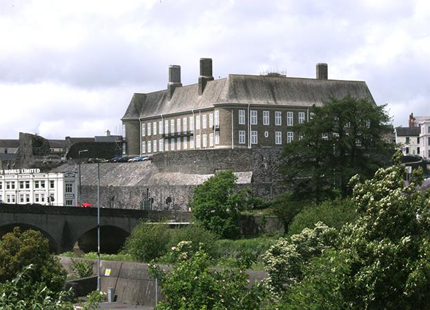 Carmarthen County Hall