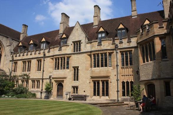 St Cross College, University of Oxford