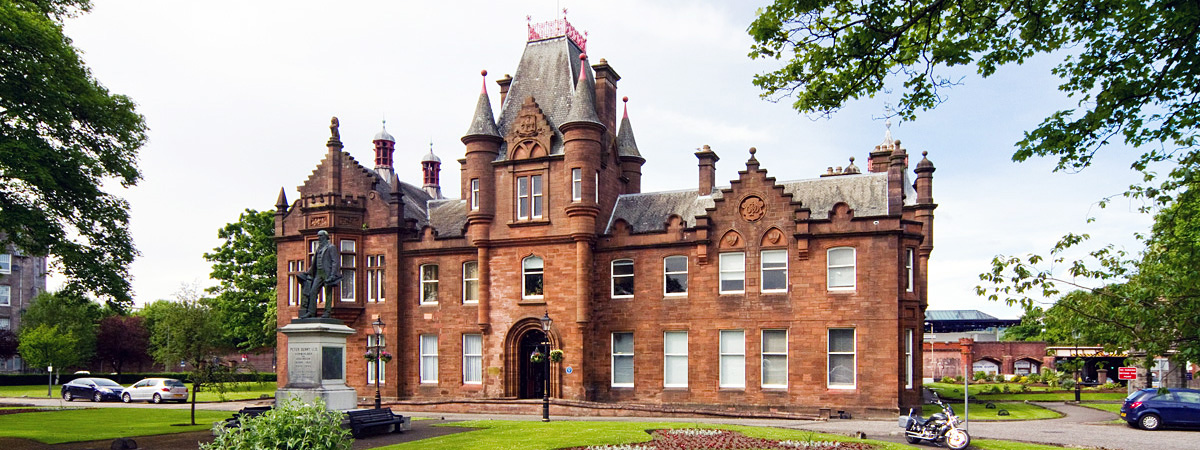 West Dunbartonshire Libraries and Cultural Services: Dumbarton Municipal Buildings