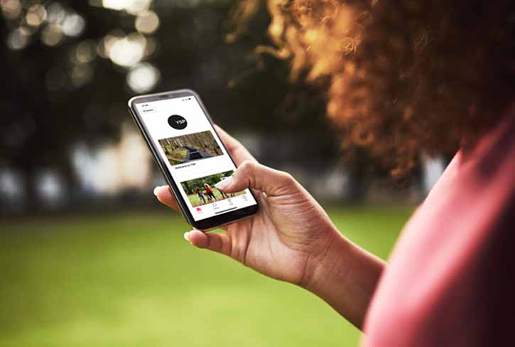 The Bloomberg Connects app at Yorkshire Sculpture Park