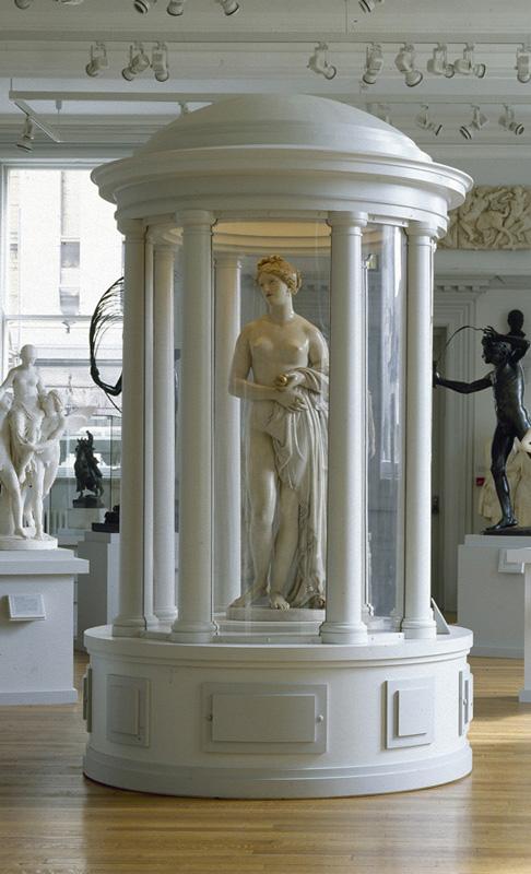 'Tinted Venus' in display case
