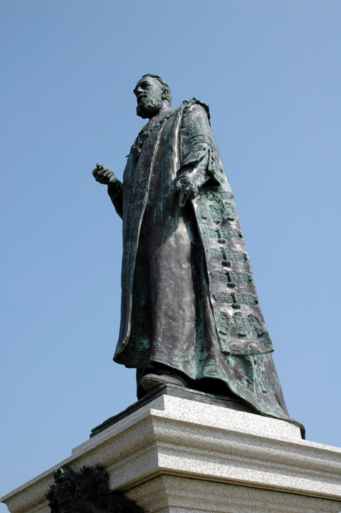 Statue of 8th Duke of Devonshire
