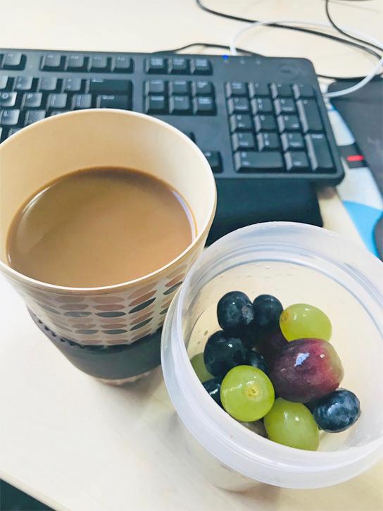 My breakfast!