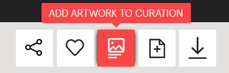 'Curate' button