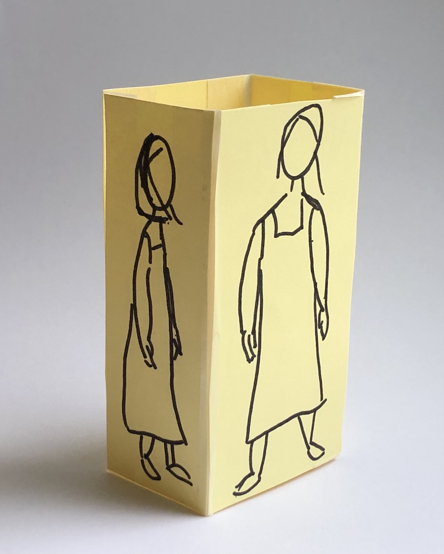 Card maquette example