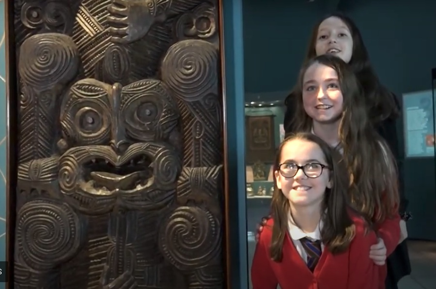 School visit to Perth Museum & Art Gallery
