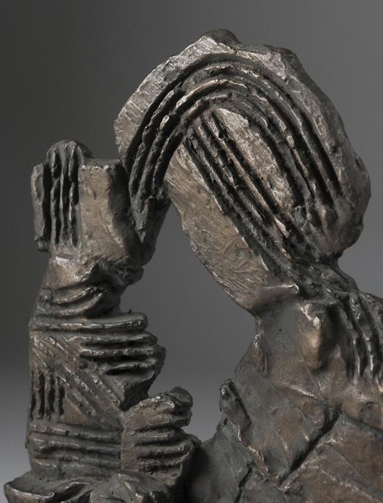 c.1950–c.1959, bronze sculpture by Phillip King (1934–2021)