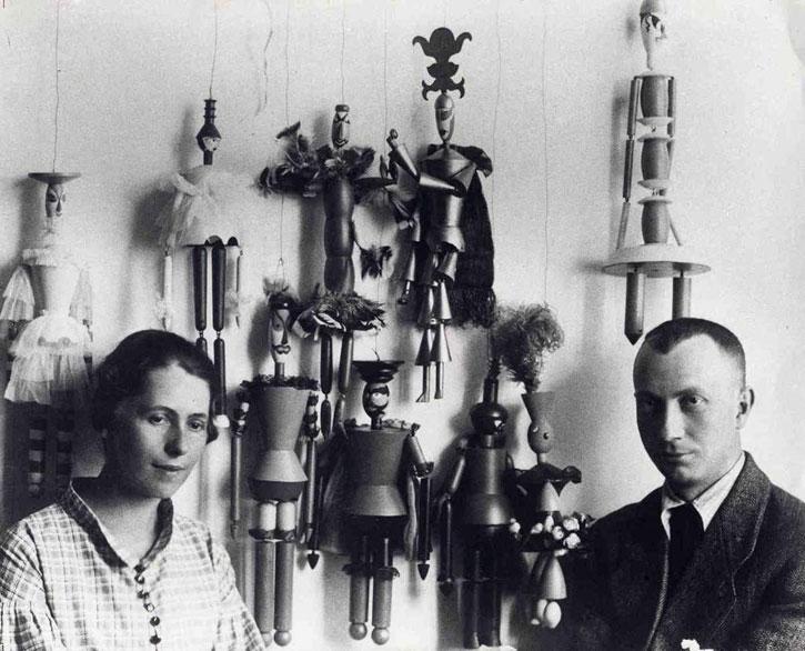 Hans Arp and Sophie Taeuber-Arp, Ascona, 1925
