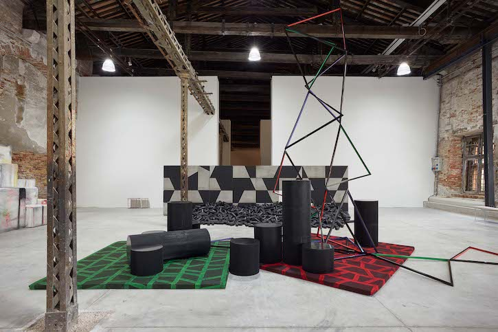 Installation view of 'The Shrinking Universe', Irish Pavilion, Biennale Arte 2019