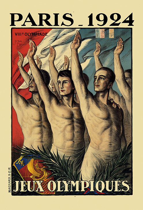 Olympic Games poster, Paris 1924