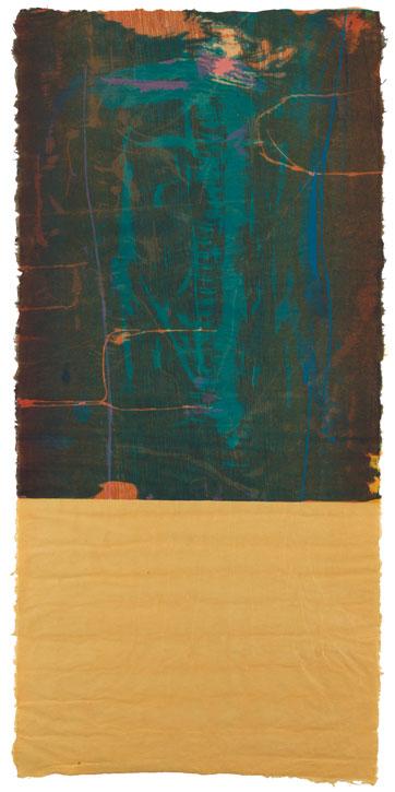 1977, woodcut proof by Helen Frankenthaler (1928–2011)