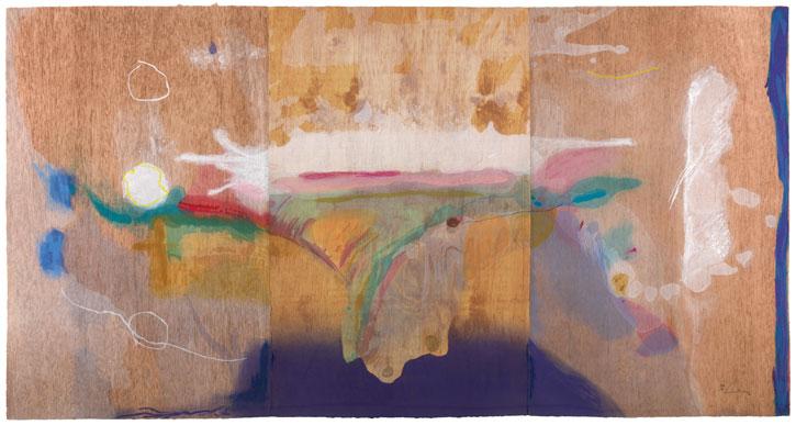 2000, colour woodcut on paper by Helen Frankenthaler (1928–2011)