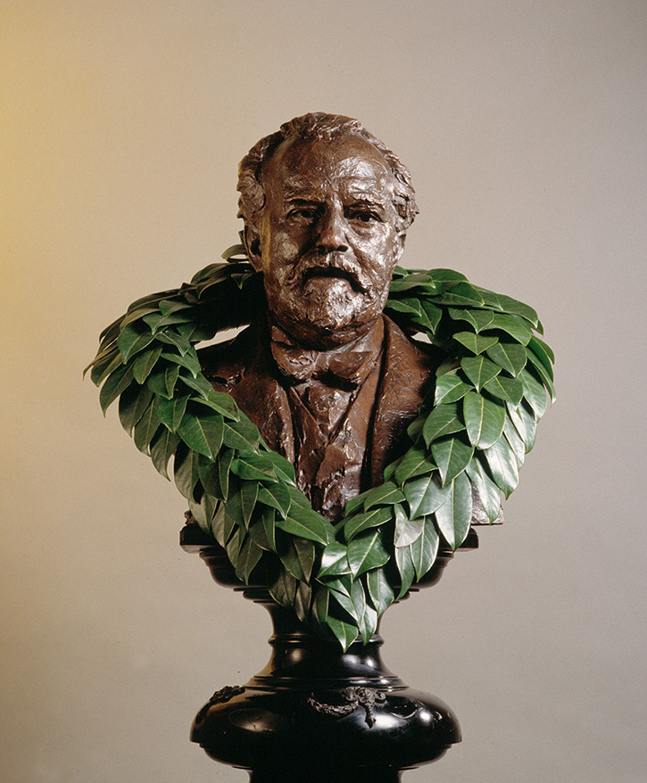 Bust of Sir Henry Wood by Sir Donald Gilbert