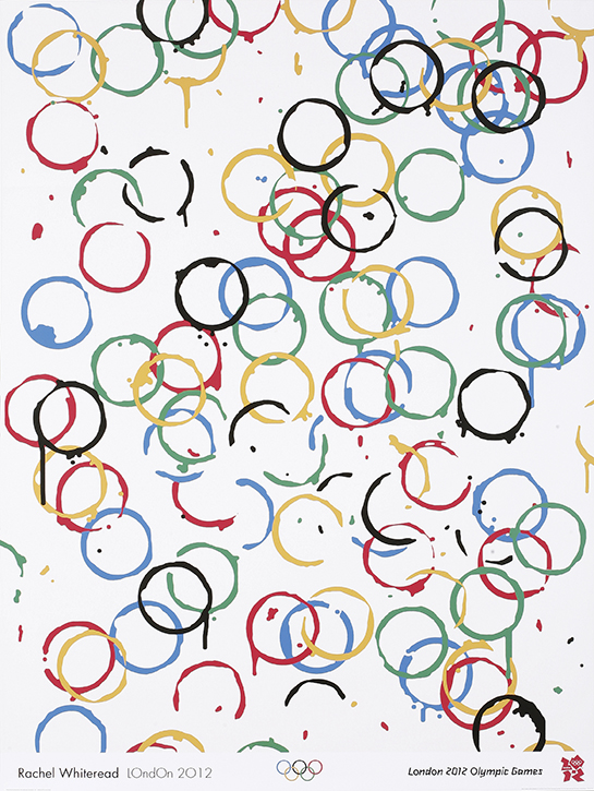 Olympic Games poster, London 2012