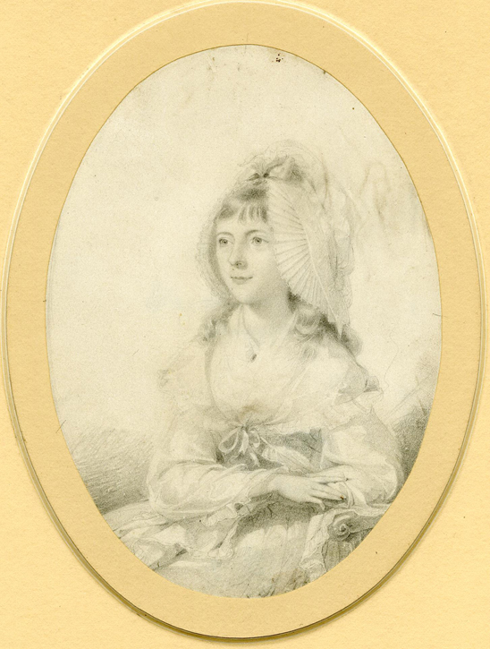 1781, graphite on vellum by Thomas Lawrence (1769–1830)