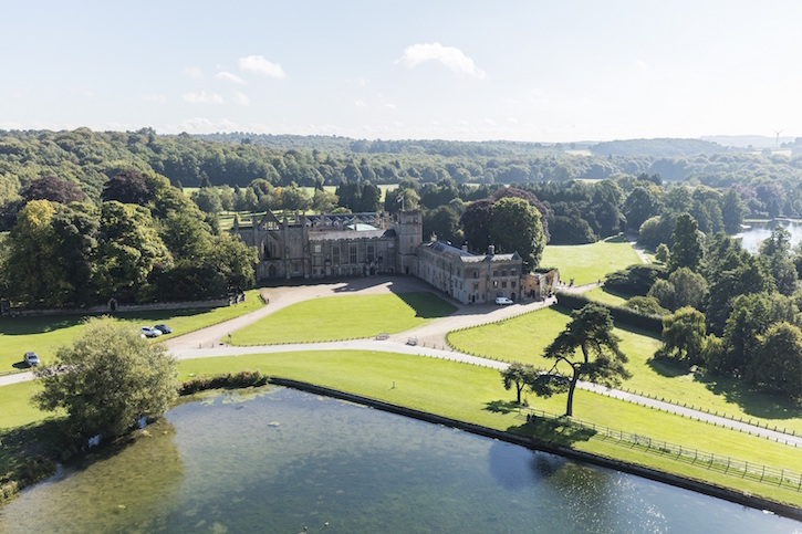Newstead Abbey and grounds