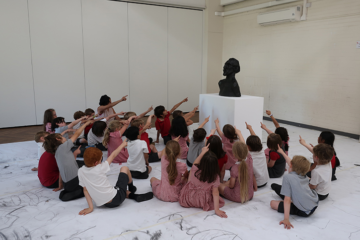 Masterpieces in Schools event, Leeds, June 2018