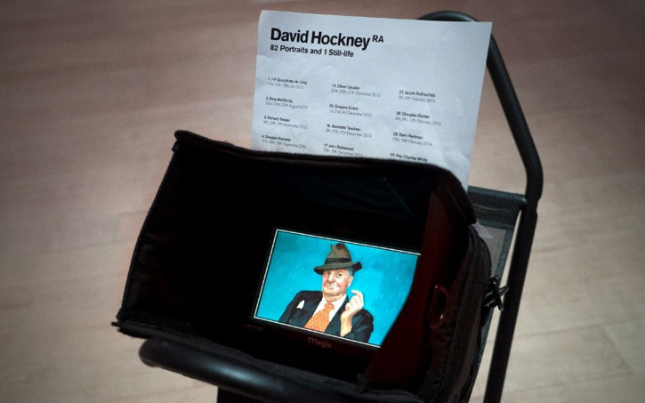 David Hockney at the Royal Academy of Arts: 'A Bigger Picture' and '82 Portraits and 1 Still-life'