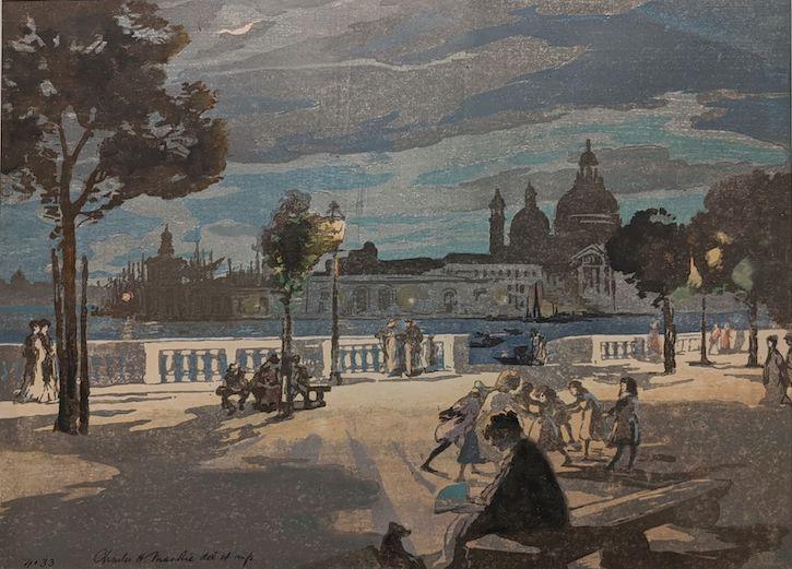The Palace Gardens, Venice