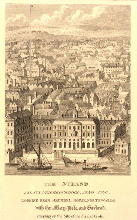 The Strand and its Neighbourhood, Anno 1700