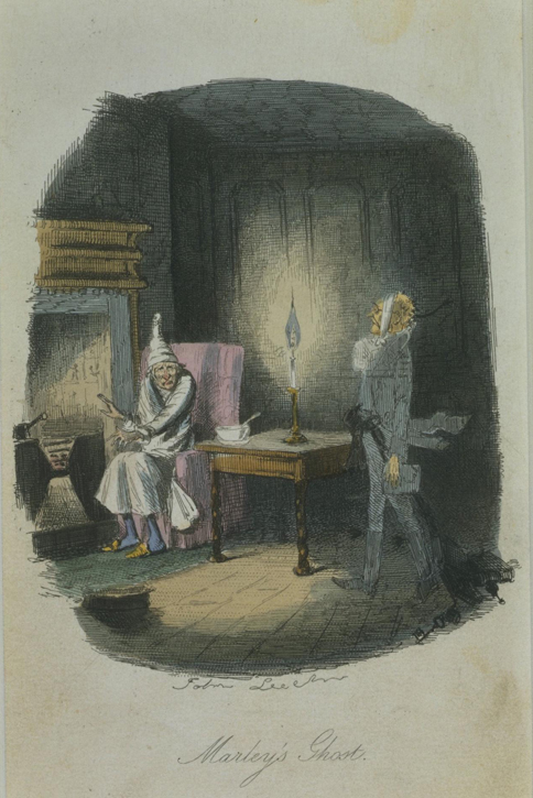 Marley's Ghost, from Charles Dickens' 'A Christmas Carol'