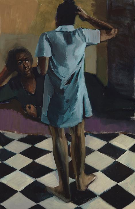 2018, oil on canvas by Lynette Yiadom-Boakye (b.1977)