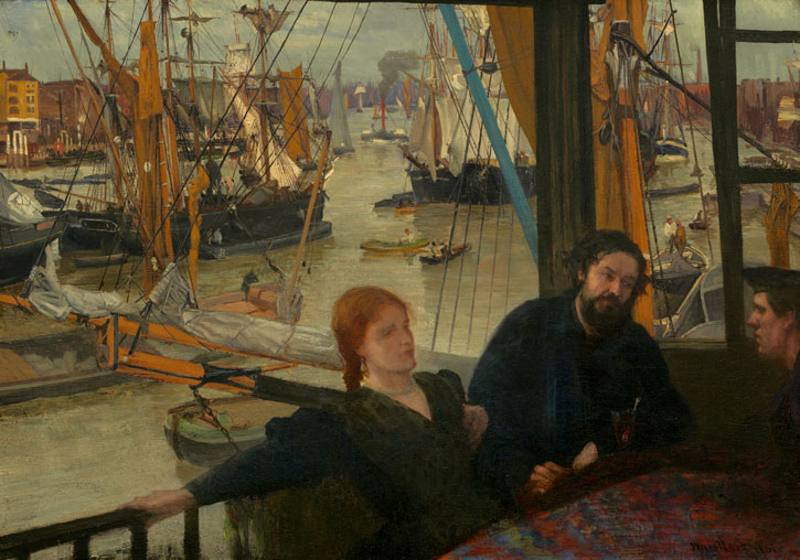 1860–1864, oil on canvas by James Abbott McNeill Whistler (1834–1903)
