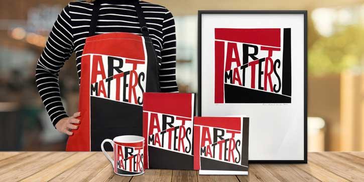 The Art Matters range on the Art UK Shop