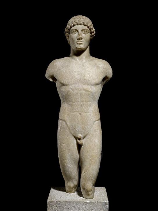 490 BC, marble by Greek School