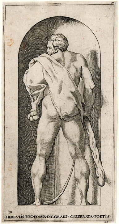 Hercules (after Rosso Fiorentino)