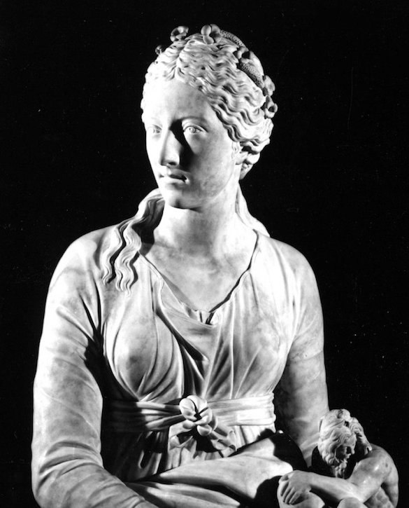 (detail), 1778, marble by Giuseppe Ceracchi (1751–1801)