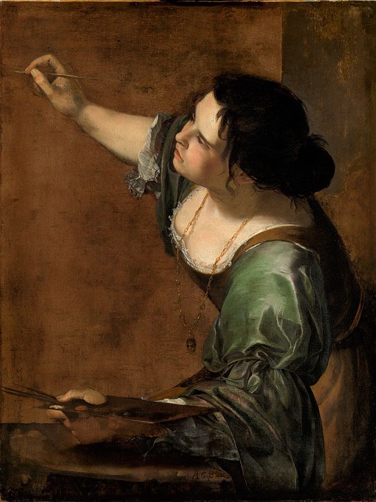 Self Portrait as the Allegory of Painting (La Pittura)