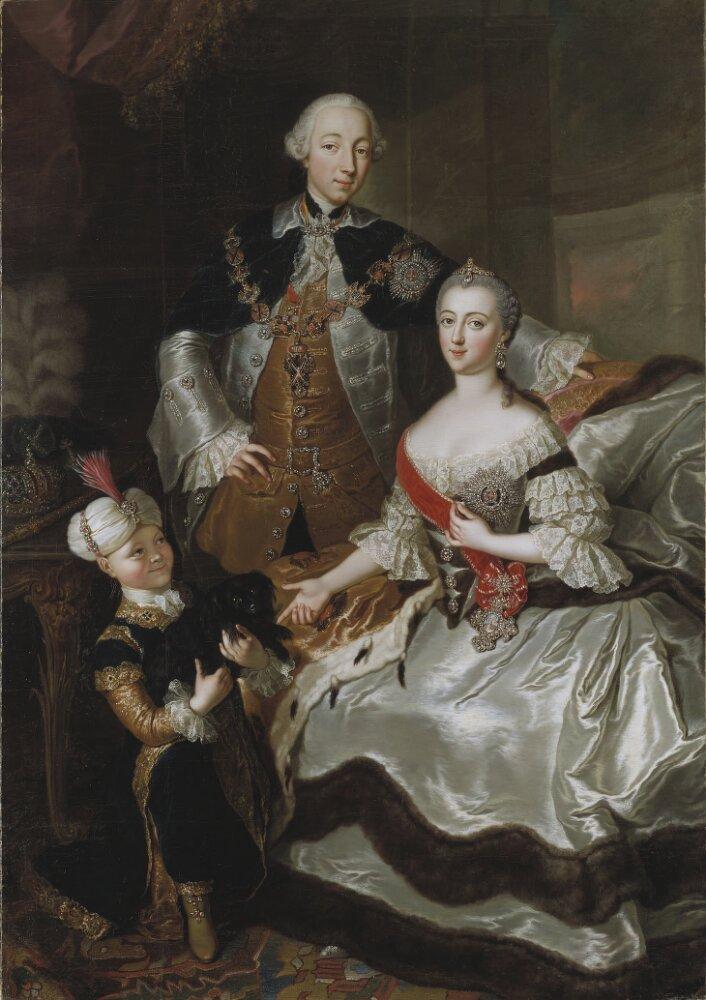 Peter III and Catherine II of Russia
