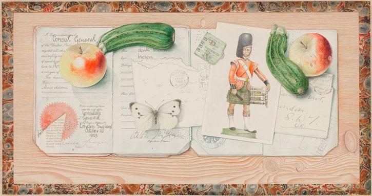 A Trompe l'Oeil for Arthur Jeffress