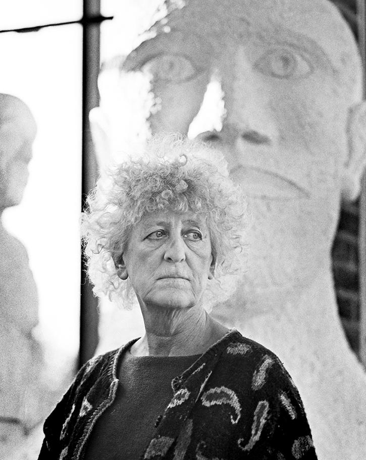 Dame Elisabeth Frink, Woolland, Dorset, 1990