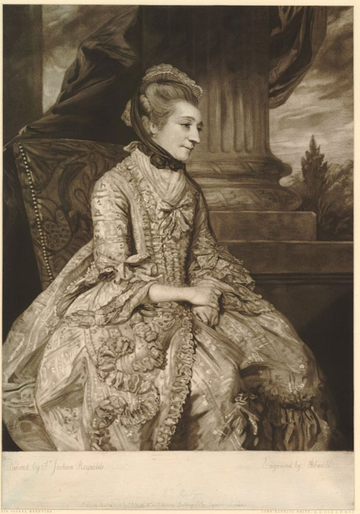 Mrs Montagu (after Joshua Reynolds)