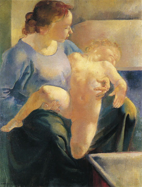 Mother and Child – After the Bath (Fanny and Hilda)
