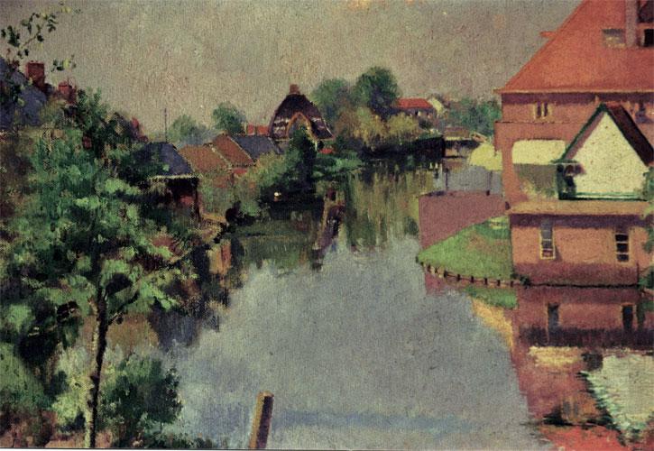 Heemstede Canal behind Rudi's House