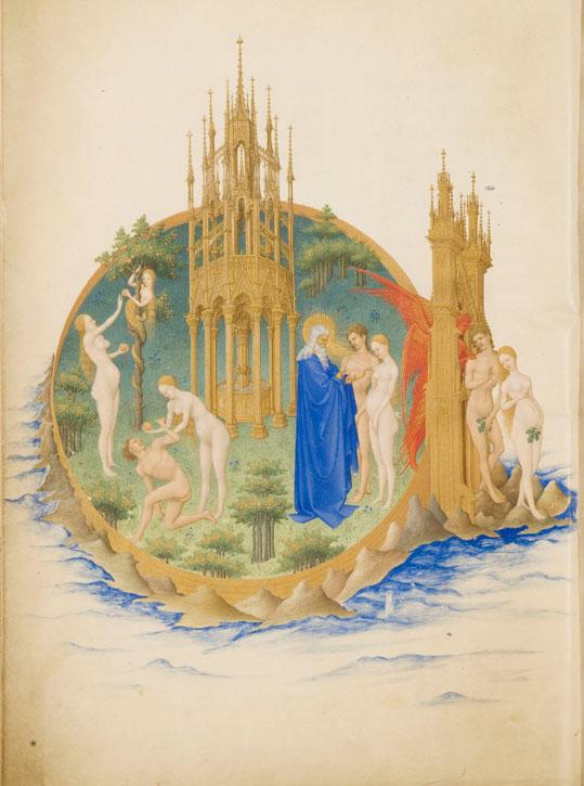 'The Garden of Eden' from the Très Riches Heures du Duc de Berry