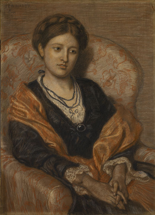 Portrait of Miss Iza Duffus Hardy
