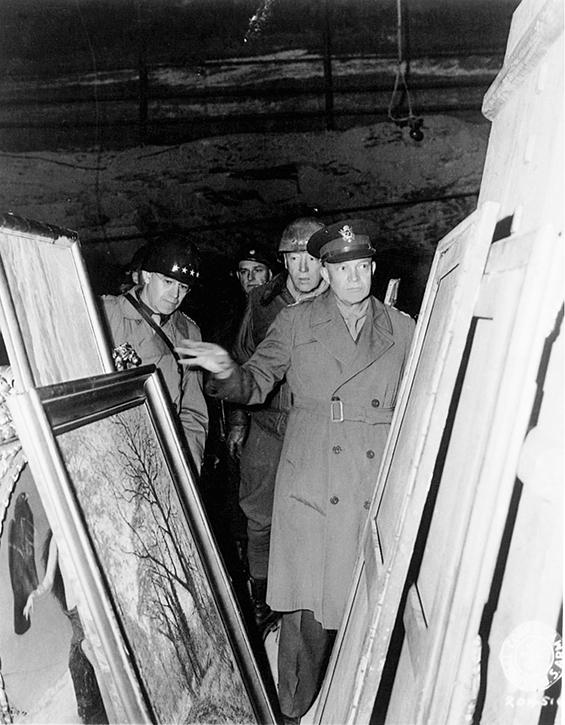 Merkers, Germany –12th April 1954