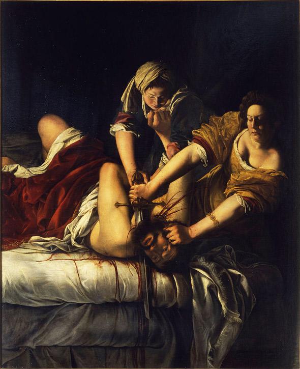 Giuditta che decapita Oloferne (Judith Beheading Holofernes)